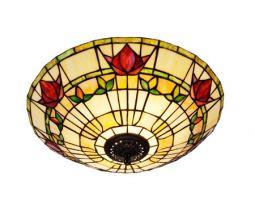 Nostalgia Design Fuchsia Tiffany plafond 45cm