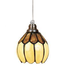 Nostalgia Design Gulsippa Tiffany fönsterlampa 14cm