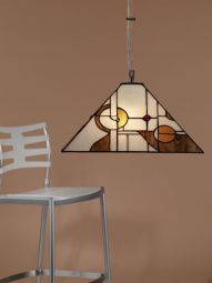 Nostalgia Design Mondo Tiffany taklampa 40cm