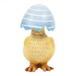 Peppe Kyckling blå 7,8cm