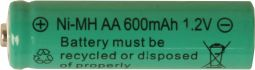 Laddbart batteri AA 1,2V NI-MH