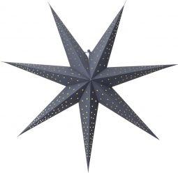 Pappersstjärna Point blå Star Trading
