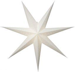 Pappersstjärna Point vit Star Trading