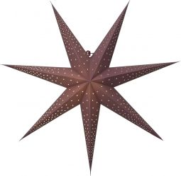 Pappersstjärna Point röd Star Trading