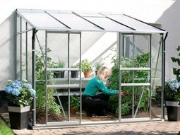 Växthus Vitavia Ida alu/glas 2,6x2m / 5,2m²