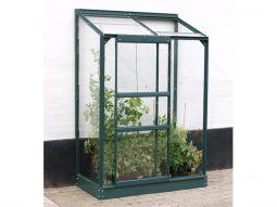Växthus Vitavia Ida grön/poly 1,3x0,7m / 0,9m²