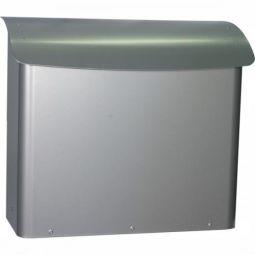 Postlåda Safe Post Premium 21 Silvergrå