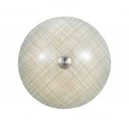 Cross LED Plafond 43cm Grå/Stål
