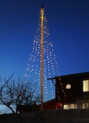 Ecolight 24V  Flaggstångsbelysning  7m+2m