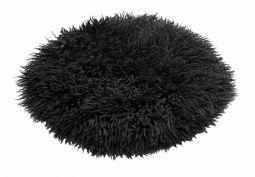Fårskinnssits Walkabout Black 38cm