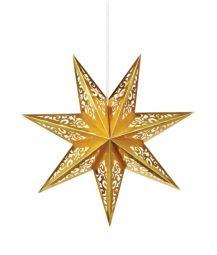 Vallby Adventsstjärna 45cm Guld