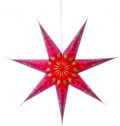 Siri röd pappersstjärna