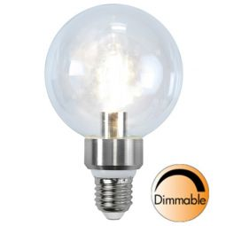 LED lampa klar E27 5W (40W) dimbar 1-pack