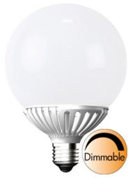 LED globlampa E27 LED opal 2900K 10W (=60W), 1-pack