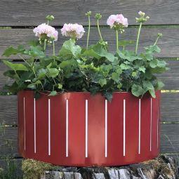 Blomlåda Väggampel Ventura Funky 45cm Röd