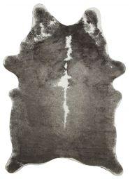 Kohud fake Rosa exotic grå/vit 152x213cm Skinnwille
