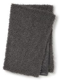 Fårskinnspläd fake Ulli mörkgrå 120x180cm Skinnwille
