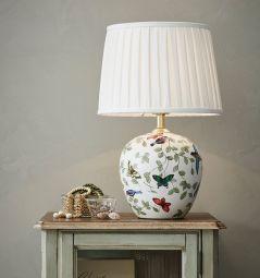 Markslöjd Mansion bordslampa vit 45cm miljöbild.