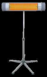 Infravärmare Norveco Star 450/1500W med stativ