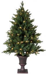 Byske julgran/plastgran 120cm 80st LED grön