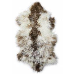 Shansi Lammskinn naturligt fläckigt 95cm Skinnwille