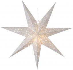 Adventsstjärna Galaxy vit 100cm frilagd
