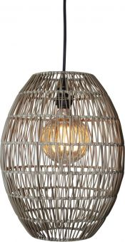 Linde Lampskärm utomhus gråbeige 40cm Star Trading