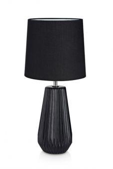 Nicci bordslampa keramik svart 41cm