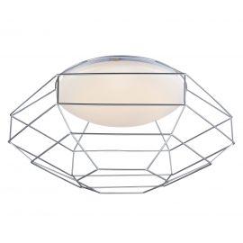 Nest takplafond vit/silver 49cm