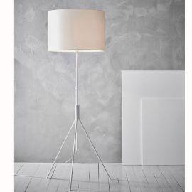 Markslöjd Sling höj- och sänkbar golvlampa vit 164cm