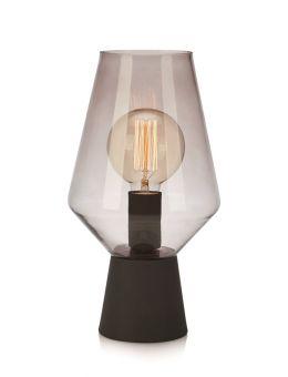Retro fönsterlampa svart 34cm Markslöjd