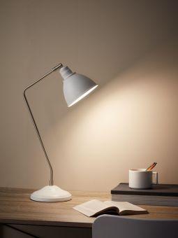 Markslöjd Coast Skrivbordslampa vit 53cm