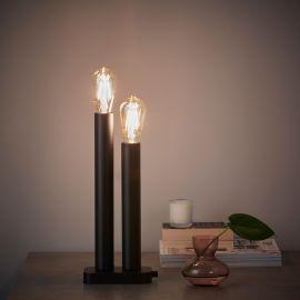Markslöjd Midtown Ljusstake 2L svart 40cm