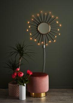 Markslöjd Blossom Vägglampa guld 80cm