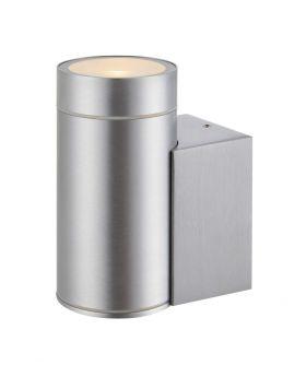 Pipe Vägglampa IP44 aluminium 13cm