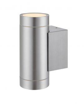 Pipe Vägglampa IP44 aluminium 16cm