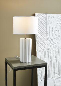 Column bordslampa vit 44cm