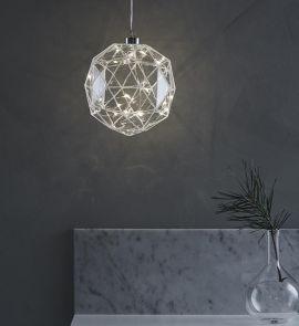 Aspliden glasdekoration LED 18 cm Markslöjd