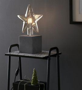 Billsta bordslampa grå 23cm Markslöjd