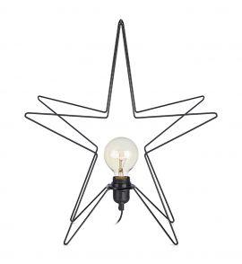 Markslöjd Asterix 3D bordsstjärna svart 49cm