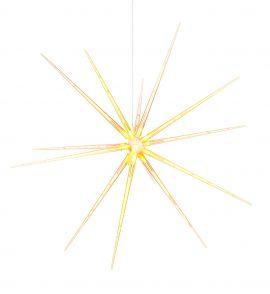 Markslöjd Bright LED Ljusstjärna 3D varmvit 53cm
