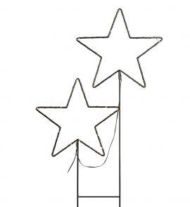 Markslöjd Mystic stjärna 2st LED svart 100cm