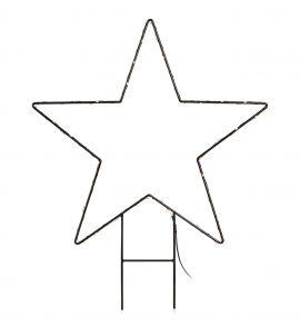 Markslöjd Mystic stjärna LED svart 62cm