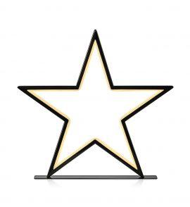 Fönsterstjärna Markslöjd Vega bord svart 46cm