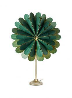 Marigold Bordsstjärna grön/mässing 45cm