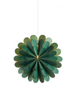 Marigold Adventsstjärna grön 45cm