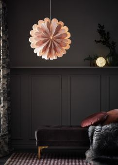 Marigold Adventsstjärna rosa 60cm