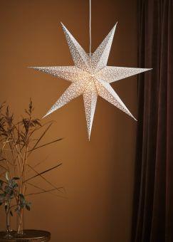 Baroque Adventsstjärna vit 75cm