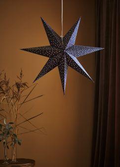 Baroque Adventsstjärna blå 75cm