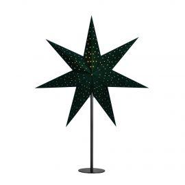Clara Bordsstjärna grön/svart 45cm
